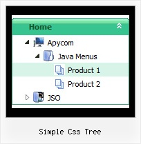 Simple Css Tree Dhtml Menu Tree Example