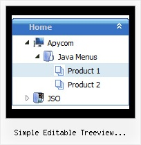 Simple Editable Treeview Javascript Tree Drag