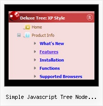Simple Javascript Tree Node Examples Menu Trees Download