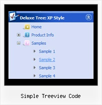 Simple Treeview Code Tree Collapsible Menu Tutorial