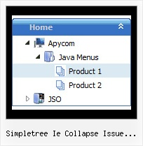 Simpletree Ie Collapse Issue Jquery Menu Slide Tree