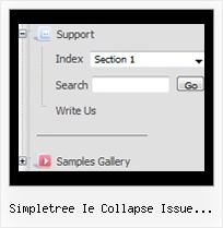 Simpletree Ie Collapse Issue Jquery Navigation Menus Tree