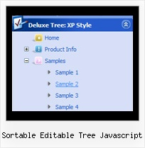 Sortable Editable Tree Javascript Drag And Drop Tree Menu