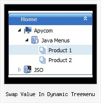 Swap Value In Dynamic Treemenu Menu Flottant En Tree