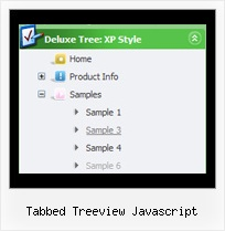 Tabbed Treeview Javascript Dynamic Tree Menu Example