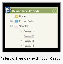 Telerik Treeview Add Multiples Icons Tree View Transparant Menu