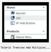 Telerik Treeview Add Multiples Icons Tree Dropdown Navigation