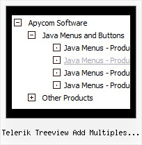 Telerik Treeview Add Multiples Icons Tree Menu With Shadow