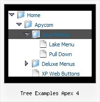 Tree Examples Apex 4 Tree Navigation Bar Example