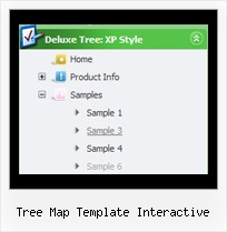 Tree Map Template Interactive Tree Dynamic Menu