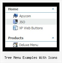 Tree Menu Examples With Icons Horizontal Sliding Tree Menu Dhtml