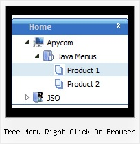 Tree Menu Right Click On Browser Tree And Array