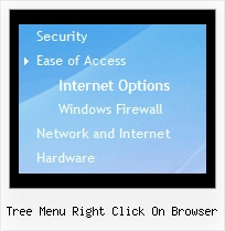 Tree Menu Right Click On Browser Tree Submenu Tutorial