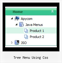Tree Menu Using Css Tree Pull Down Navigation