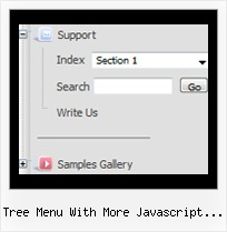 Tree Menu With More Javascript Prototype Tree Disable Select