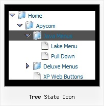 Tree State Icon Frame Scrolling Tree