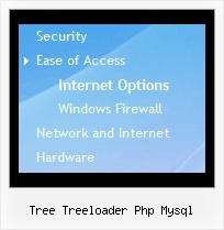 Tree Treeloader Php Mysql Tree Drag Mouse