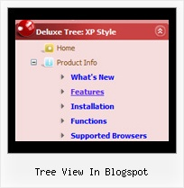 Tree View In Blogspot Javascript Collapsible Menu Tree