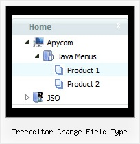Treeeditor Change Field Type Sliding Tree Menu Tree