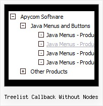 Treelist Callback Without Nodes Tree In Frames