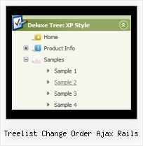 Treelist Change Order Ajax Rails Pulldownmenu Tree