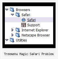 Treemenu Magic Safari Problem Tree Slide Menus