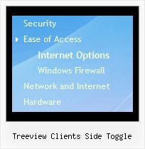 Treeview Clients Side Toggle Menu Dinamici Tree