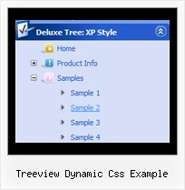 Treeview Dynamic Css Example Mouseover Menu Tree