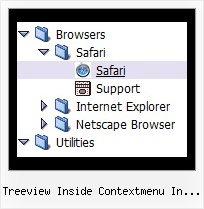 Treeview Inside Contextmenu In Silverlight Js Or Tree Menus