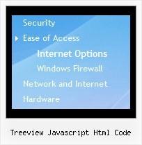 Treeview Javascript Html Code Tree Menu With Shadow
