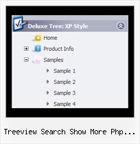 Treeview Search Show More Php Javascript Tree View Transition
