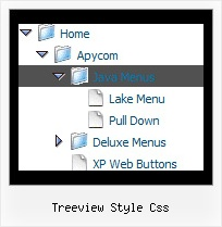 Treeview Style Css Tree For Navigation Bar