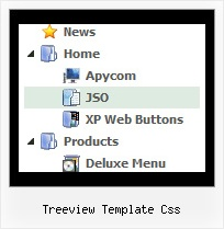 Treeview Template Css Xp Menu Tree