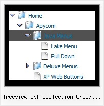 Treeview Wpf Collection Child Parents Cross Frame Tree Menu