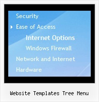 Website Templates Tree Menu Change Icon Onmouseover Tree