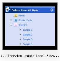 Yui Treeview Update Label With Icon Sample Javascript Tree