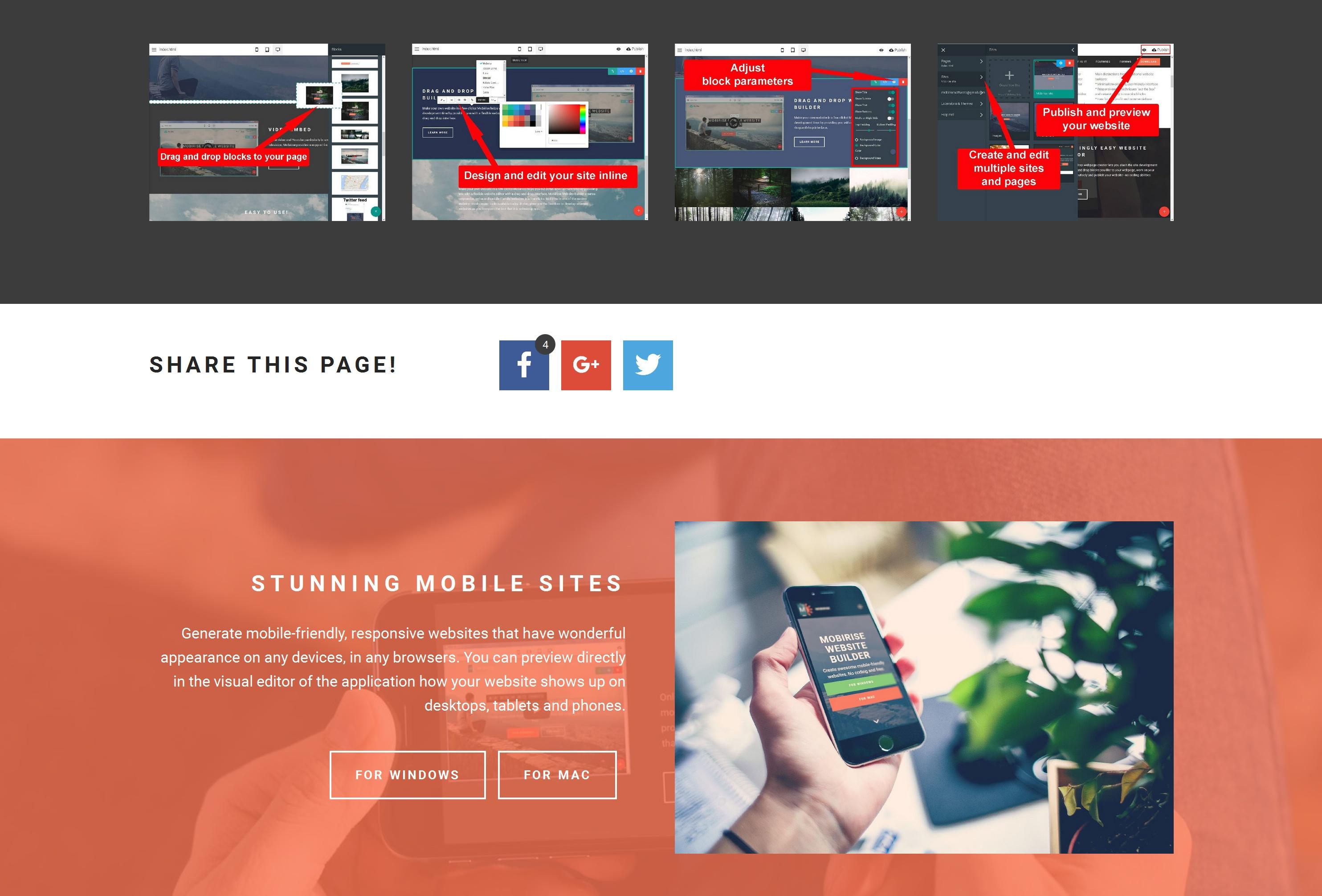 Very Easy Website Creator Software
