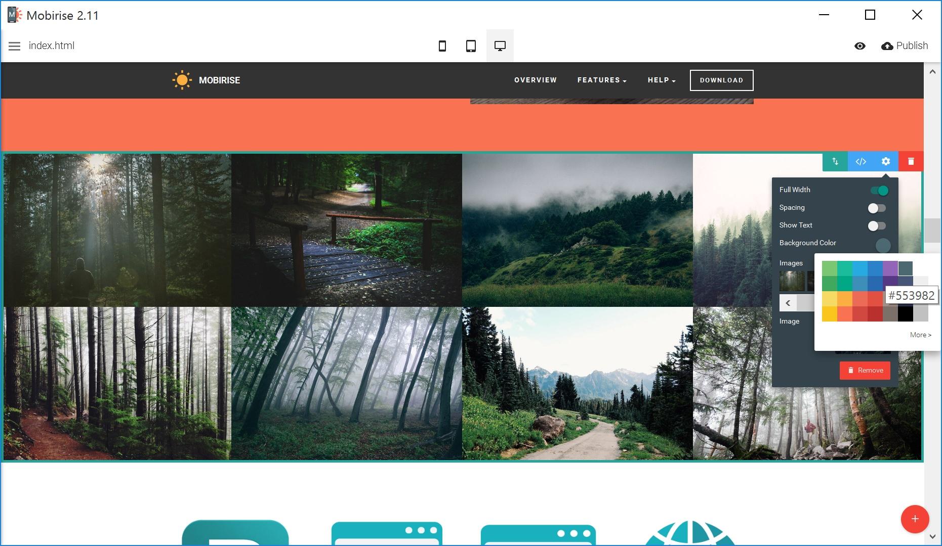 Very Easy Website Builder