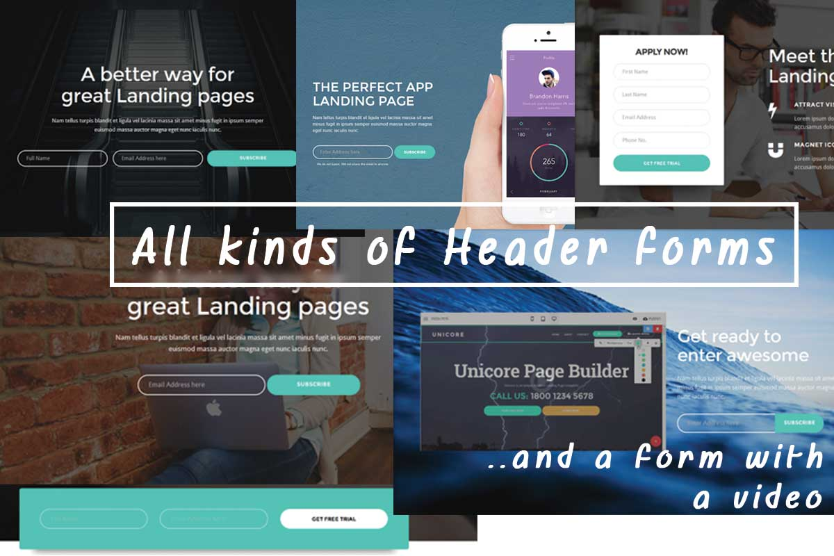 Bootstrap Responsive Theme Template