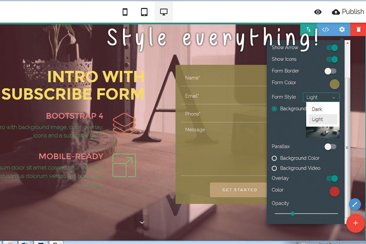 Offline Responsive Web Site Creator Software