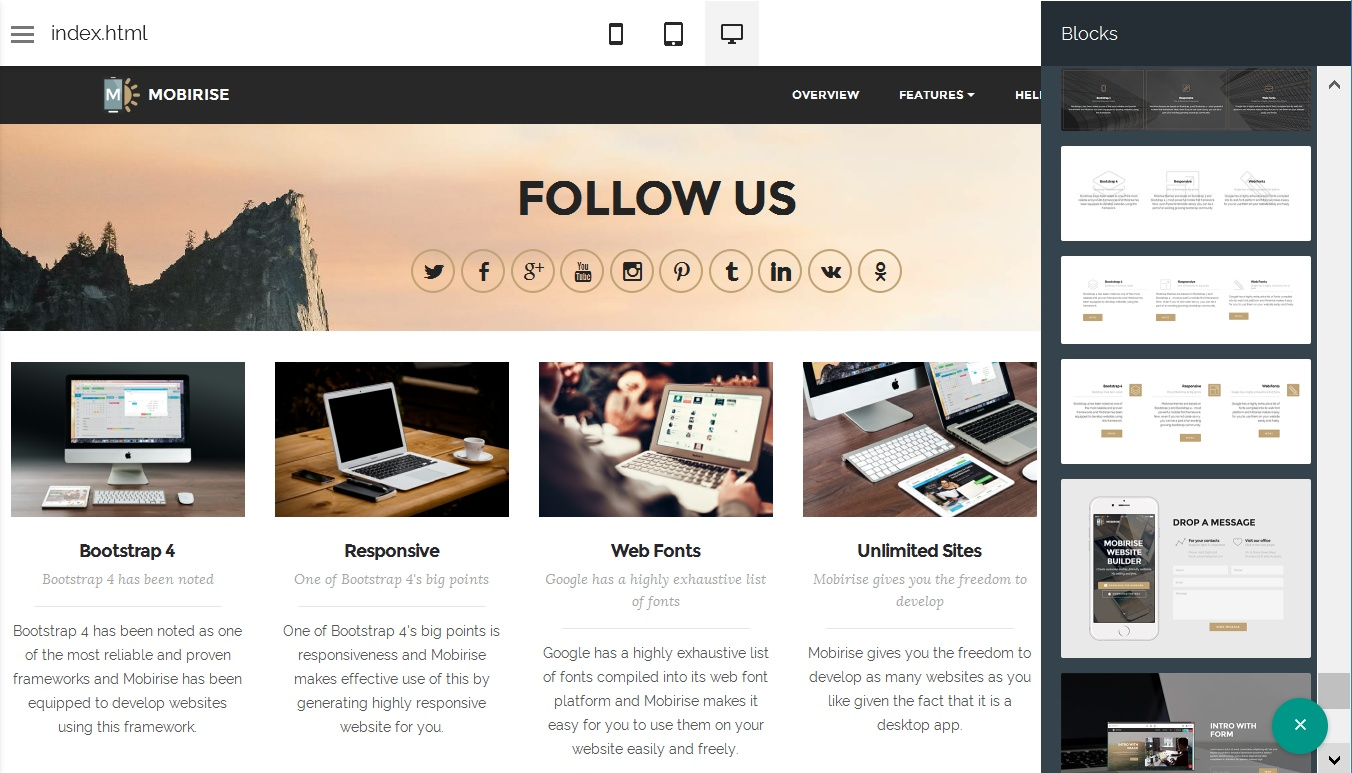 Responsive Site Design Software