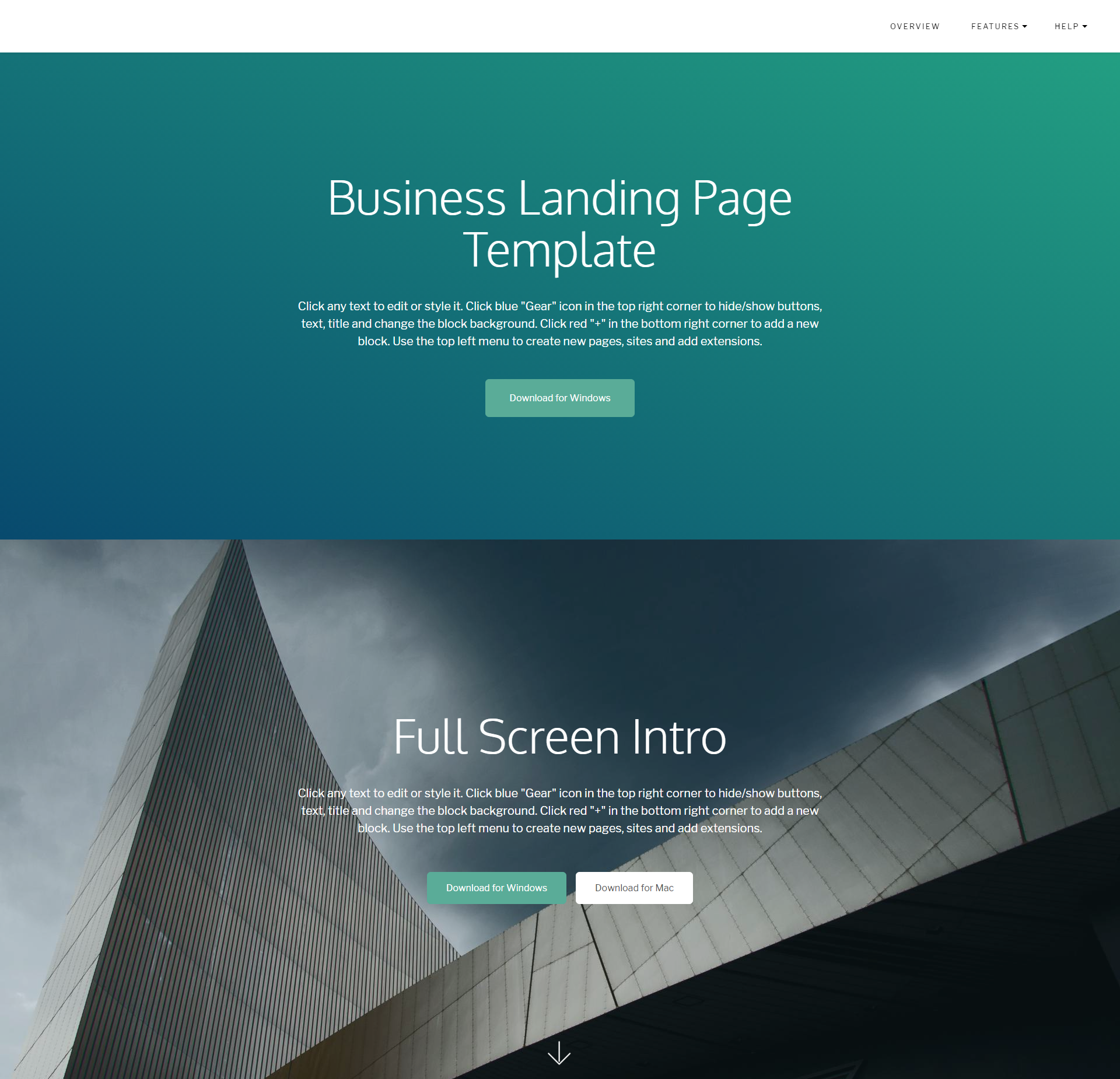 HTML5 Bootstrap DirectM Templates