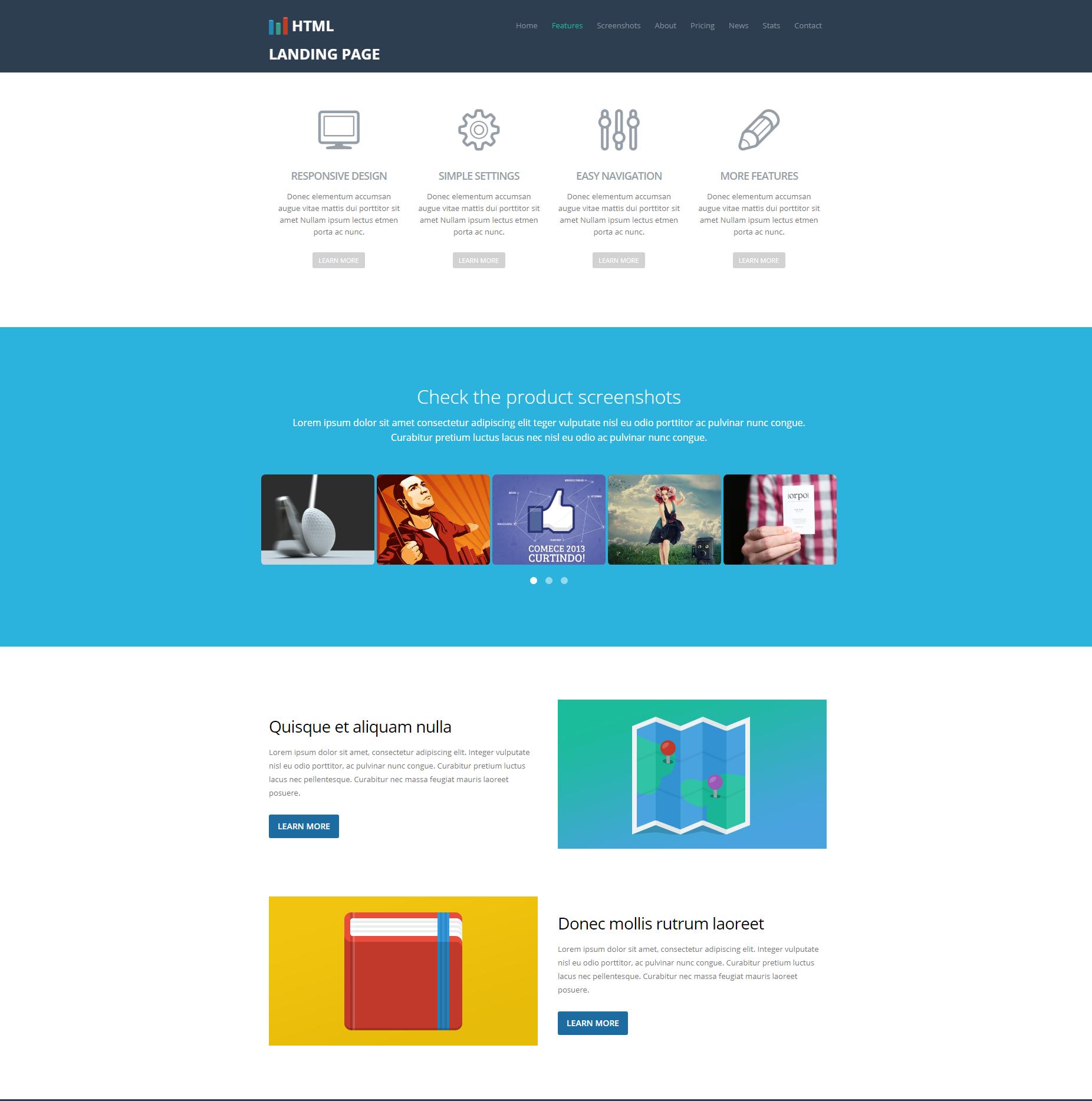 CSS3 Bootstrap Ezyland Themes