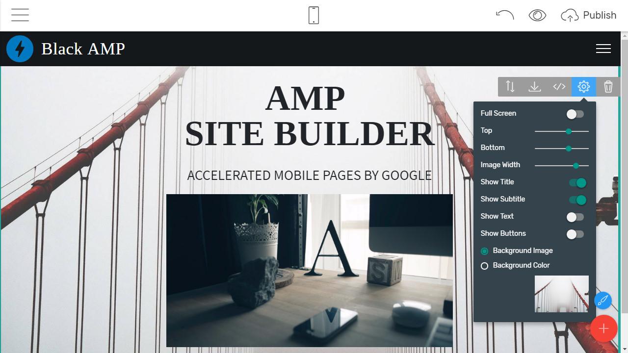 Mobile Website Builder
