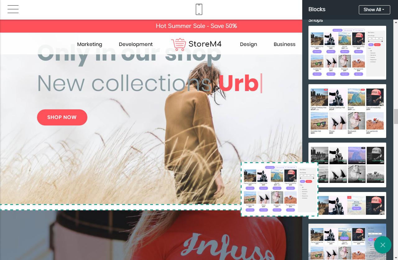 Mobile-friendly Site Maker
