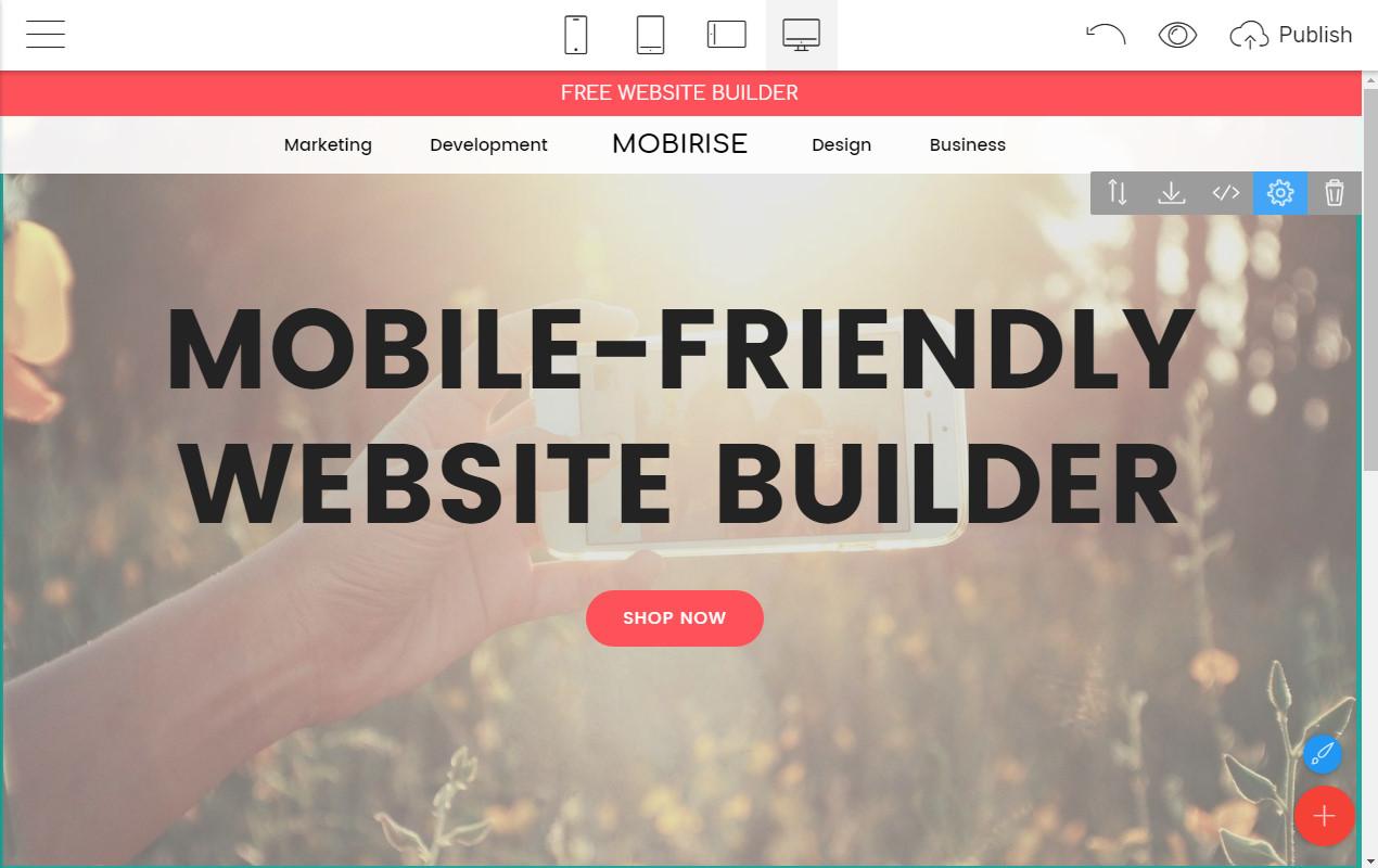 Responsive Webpage Maker