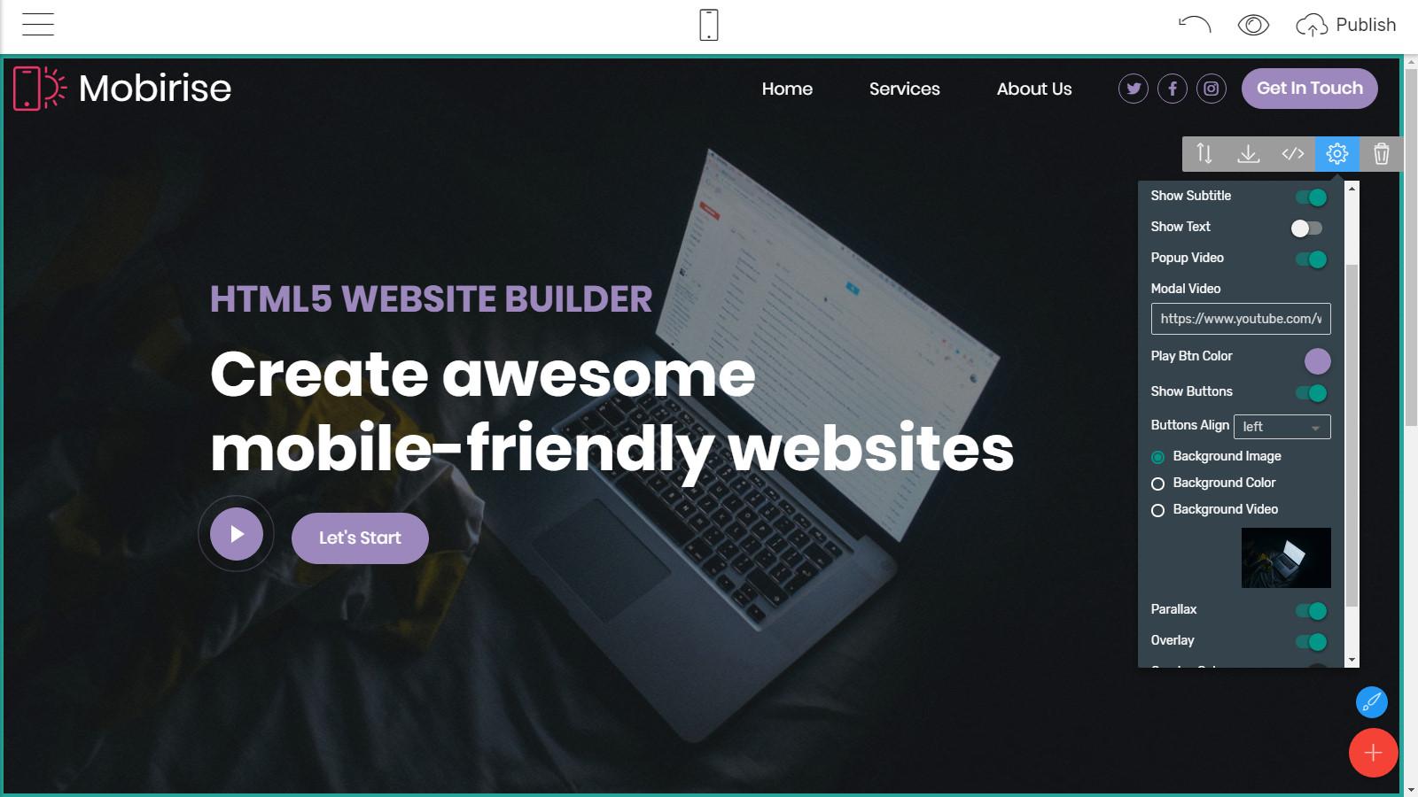 html5 website layouts