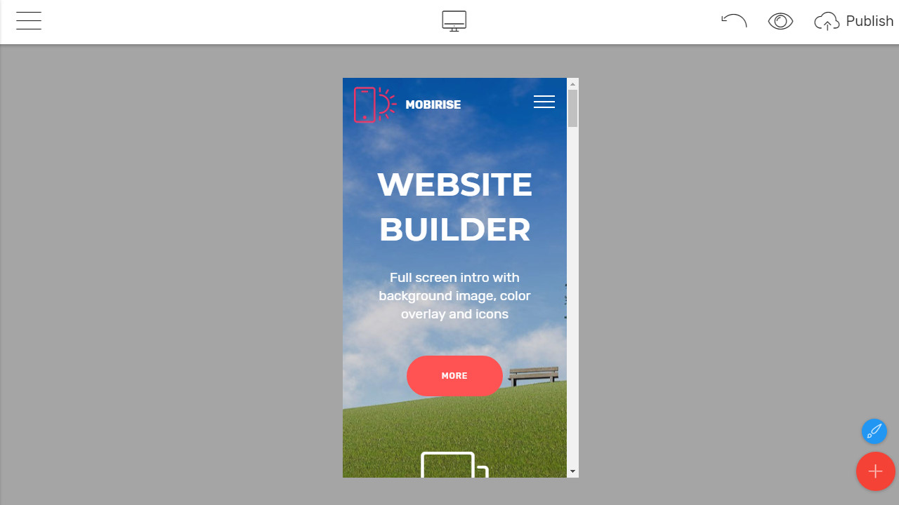 Mobile-Friendly Web Builder