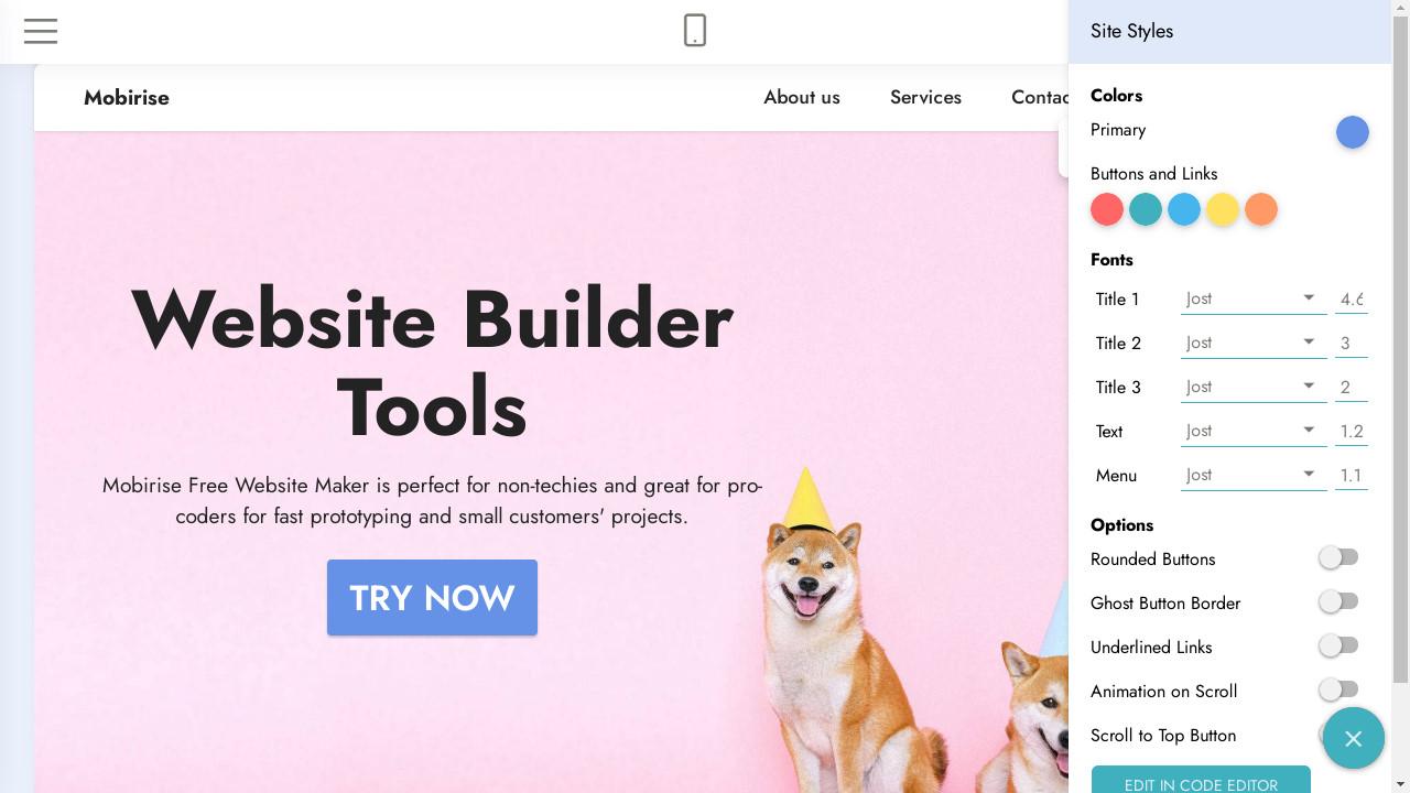 Mobirise Web Builder