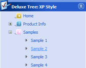 Tree Navigation Menu Example Java Treectrl